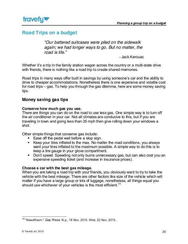 gas mileage planner
