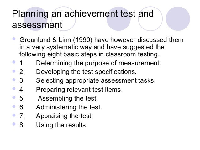 Planning an achievement test and assessment 18 638gcb1419000436 analysis 18 planning an achievement test malvernweather Choice Image