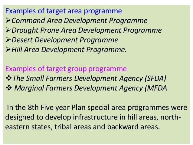 tribal area development programme in india pdf