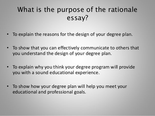 pedagogical rationale Rationale this standard asserts the importance of a strong content background and foundation of pedagogical knowledge for all candidates teaching is complex and.