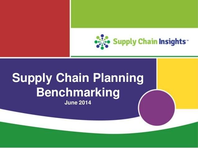 Planning benchmarking webinar
