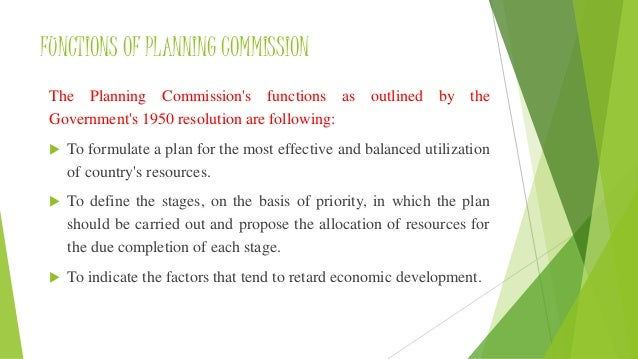 planning commission of india 16062004 correct the planning commission was set up by a resolution of the government of india in march 1950 in pursuance of.