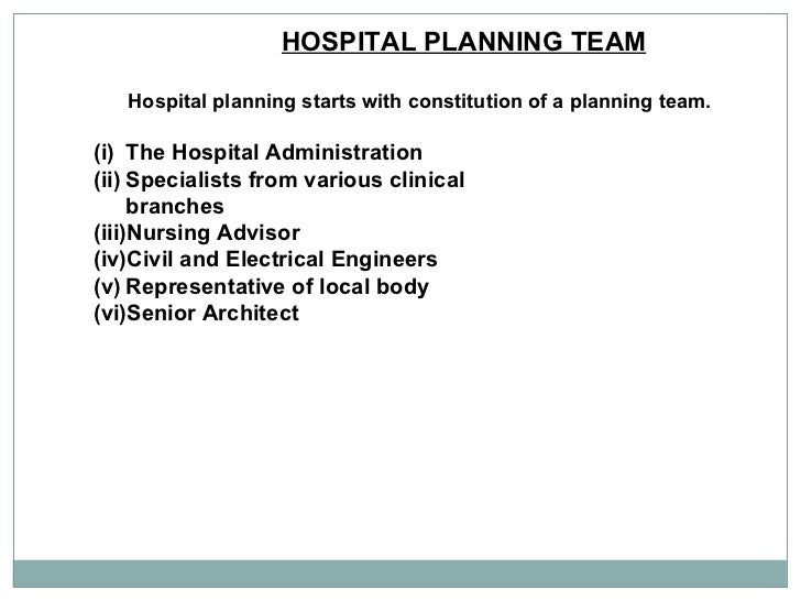 private hospital business plan
