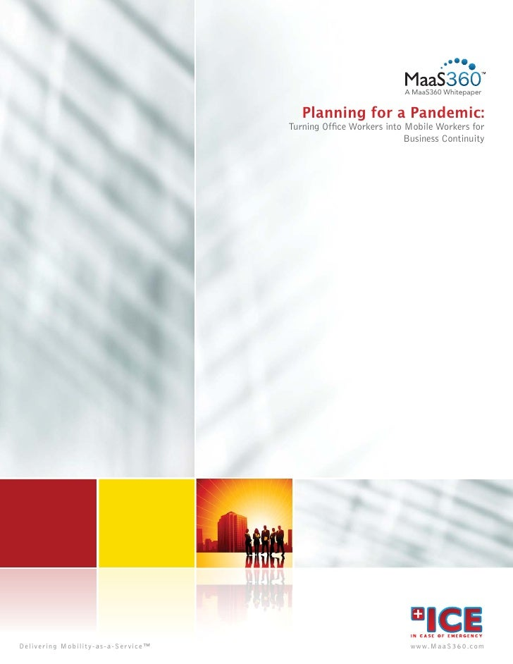 A MaaS360 Whitepaper                                                       Planning for a Pandemic:                       ...