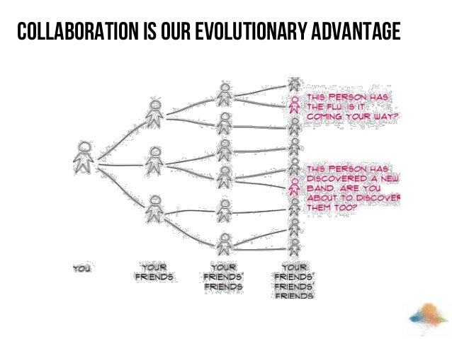 Collaboration is our evolutionary advantage