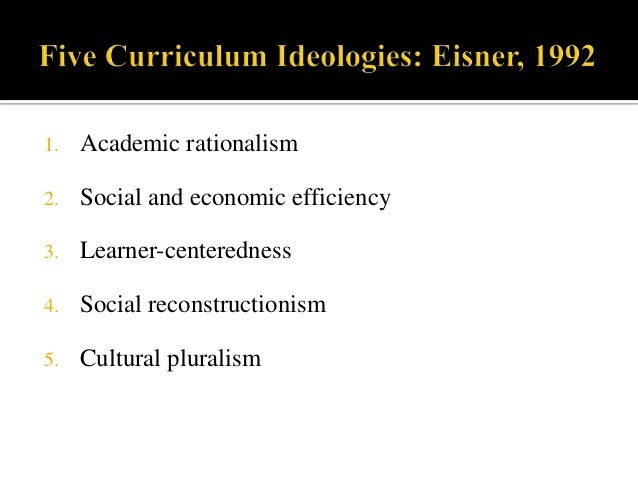curriculum models and ideologies These are my study notes from michael stephen schiro's curriculum theory first schiro introduces four curriculum ideologies: scholar academic ideology.