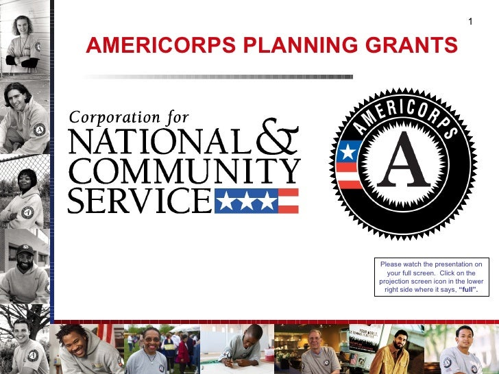 AmeriCorps Planning Grants 101