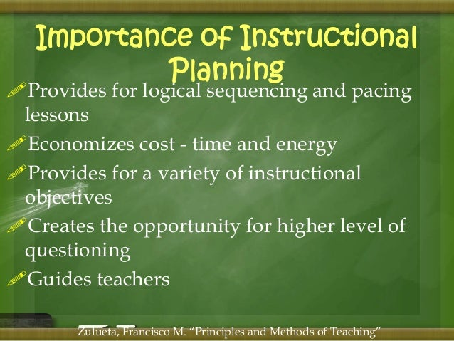 importance of instructional materials in teaching and learning process pdf