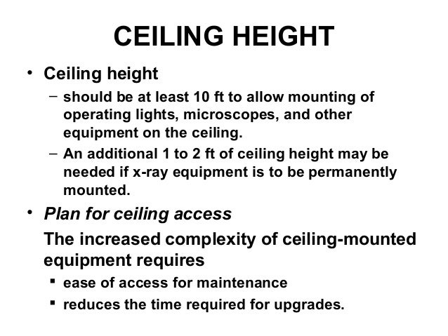 Clear Ceiling Height Integralbook Com