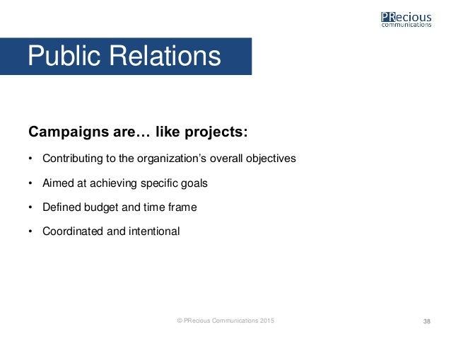 Unicef managing public relations