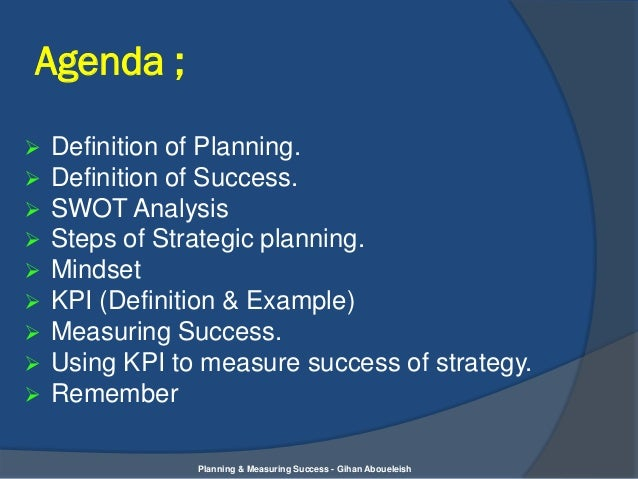 planning and measuring Facilitate planning and control: productivity measurement provides information  on costs, time, output rate, and resource usage to allow decision making with.