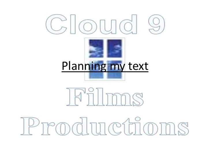 Planning my text
