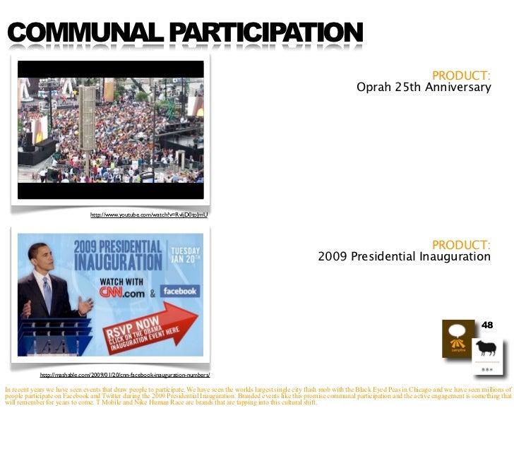 COMMUNAL PARTICIPATION                                                                                                    ...