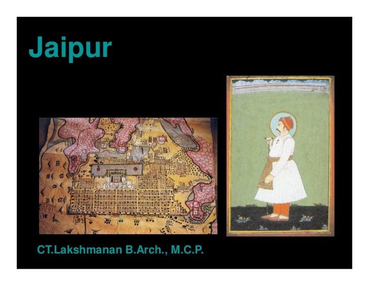 JaipurCT.Lakshmanan B.Arch., M.C.P.