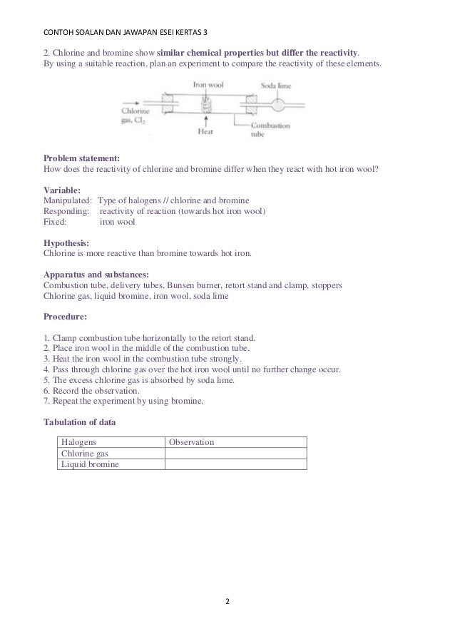 Planning paper 3
