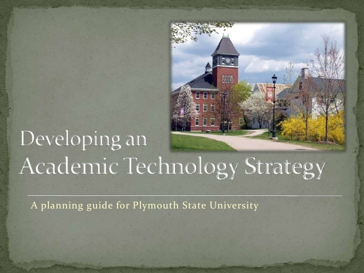 A planning guide for Plymouth State University