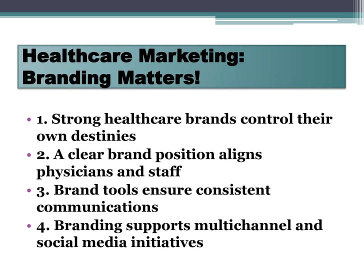 marketing plans for hospitals Executive summary introduction connecticut's healthcare innovation plan (innovation plan) is the product of a shared vision of a broad range of stakeholders to establish primary care as the foundation of care delivery.