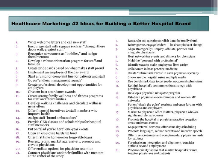 Planning the marketing for 300 bedded corporate hospital