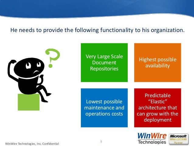 Planning Very Large Scale Document Repositories with High Availabilit…