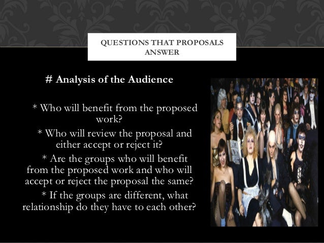 proposal essay presentation 5 questions that proposals