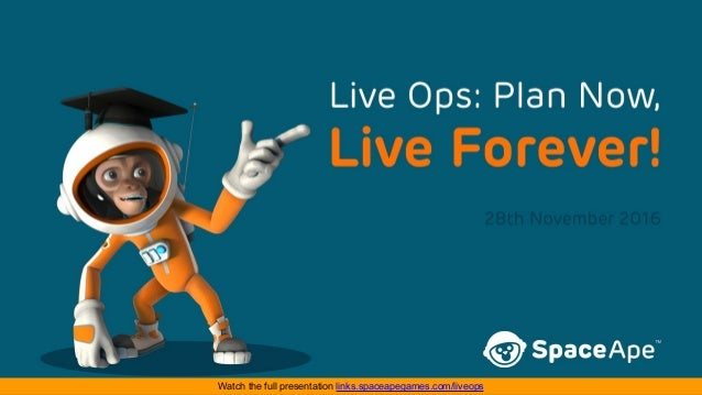 Watch the full presentation links.spaceapegames.com/liveops