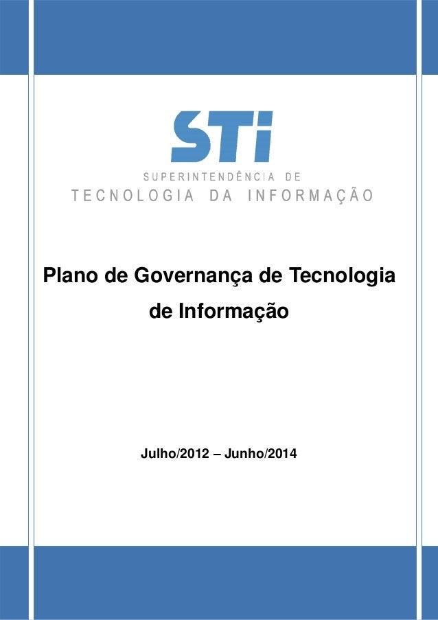 UNIVERSIDADE FEDERAL FLUMINENSE SUPERINTENDÊNCIA DE TECNOLOGIA DA INFORMAÇÃO Comissão de Governança e Segurança da Informa...