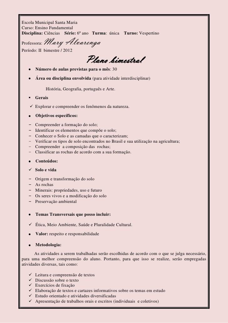 Super Plano de aula - Portugês e Ciências ZT69