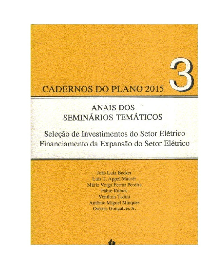 Plano 2005   Taxa De Desconto