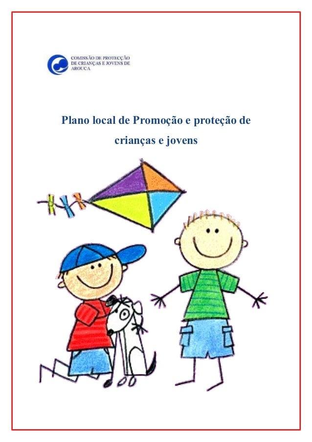 Plano local de Promoção e proteção de crianças e jovens