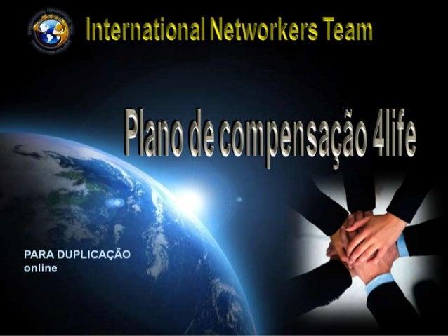 Plano compensação 4 Life Brasil