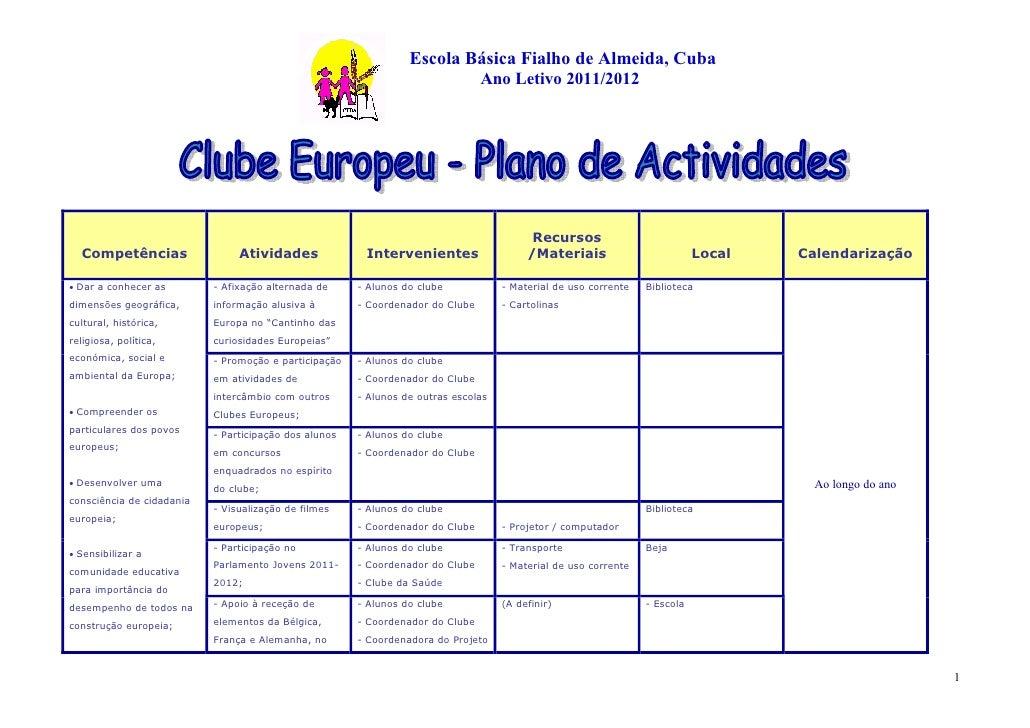 Escola Básica Fialho de Almeida, Cuba                                                                                Ano L...
