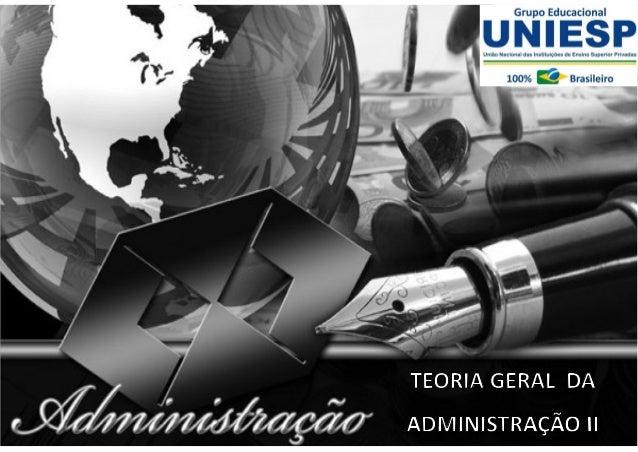 Fund. de Administração - Prof.ª Rosangela Alves