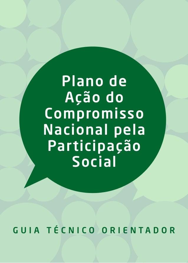 Plano de Ação do Compromisso Nacional pela Participação Social