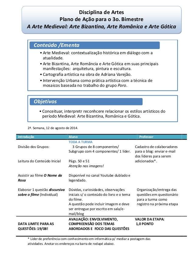 2ª. Semana, 12 de agosto de 2014. Introdução Aluno Professor TODA A TURMA Divisão dos Grupos: Leitura do Conteúdo Inicial ...