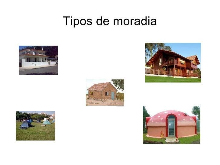 Tipos de moradia
