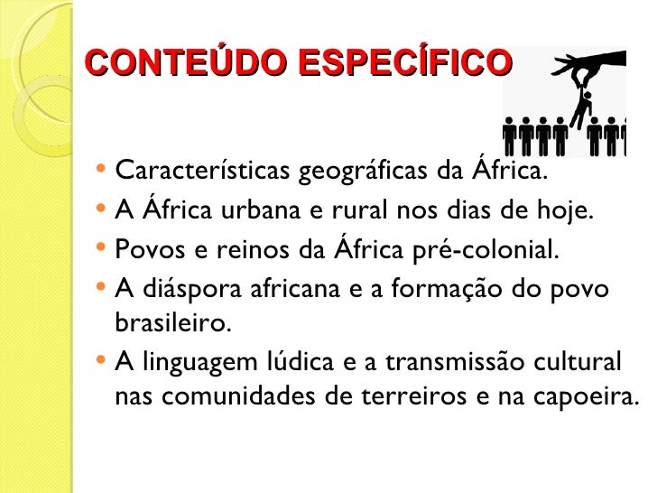 CONTEÚDO ESPECÍFICO  <ul><li>Características geográficas da África. </li></ul><ul><li>A África urbana e rural nos dias de ...