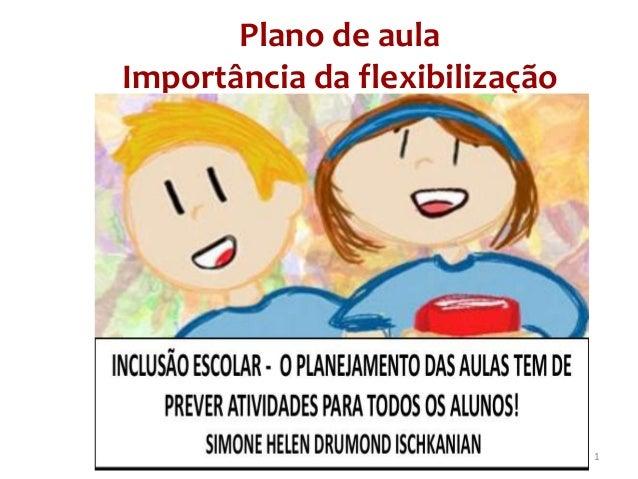 Plano de aula Importância da flexibilização 1