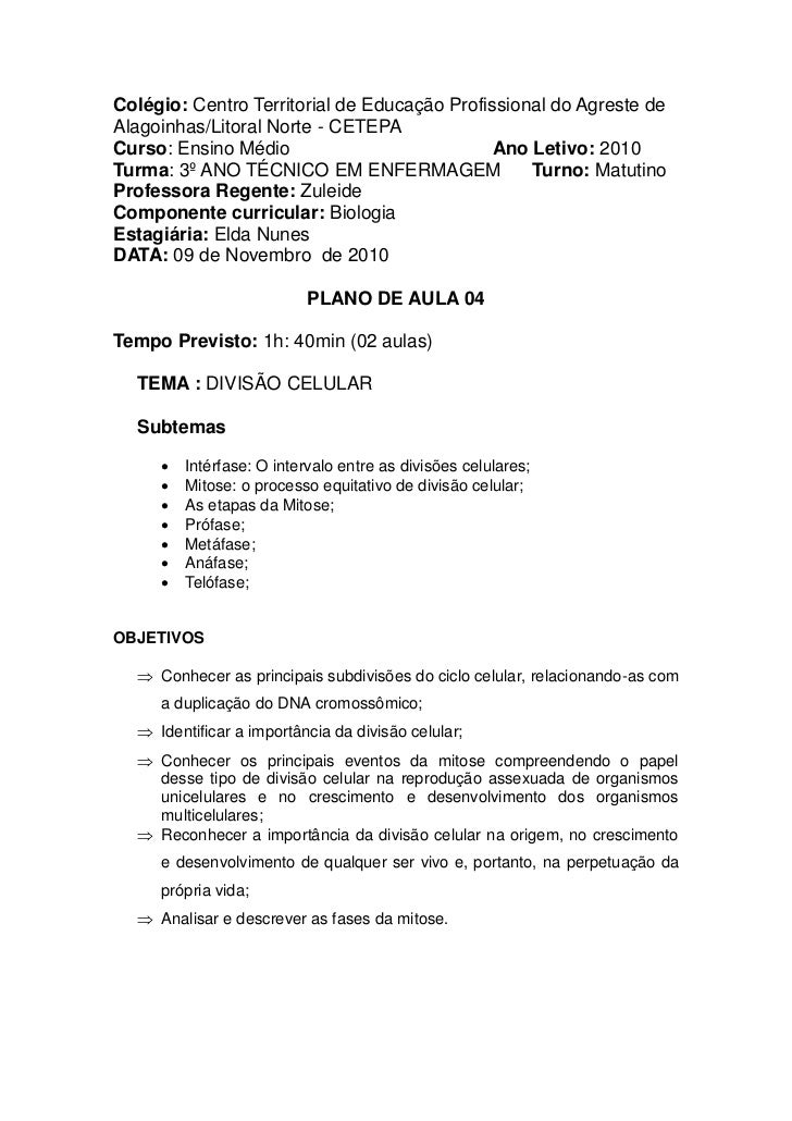 Colégio: Centro Territorial de Educação Profissional do Agreste deAlagoinhas/Litoral Norte - CETEPACurso: Ensino Médio    ...