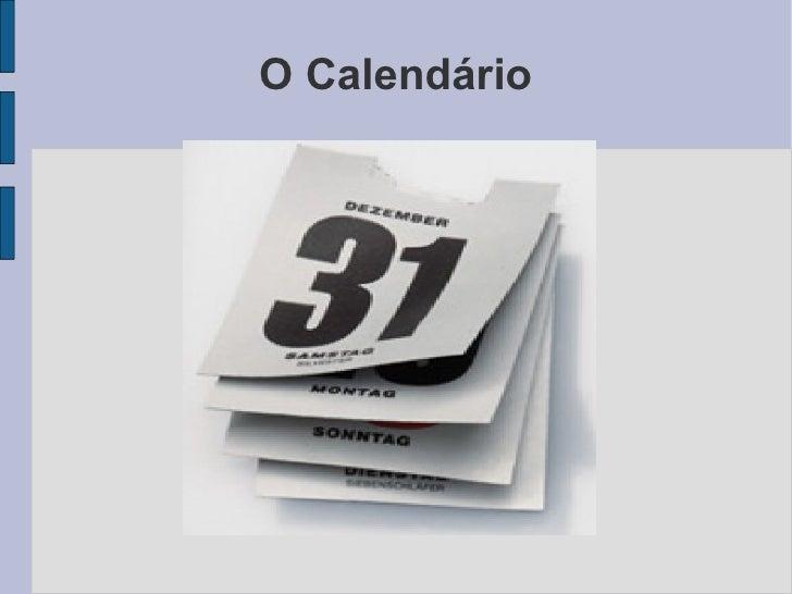 O Calendário