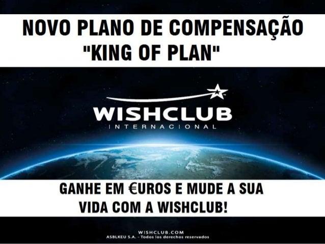 Novo Plano de Compensação WishClub em Portugues - Brasil