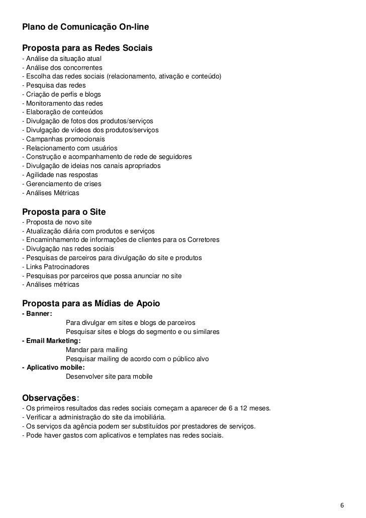 Plano de Comunicação On-lineProposta para as Redes Sociais- Análise da situação atual- Análise dos concorrentes- Escolha d...