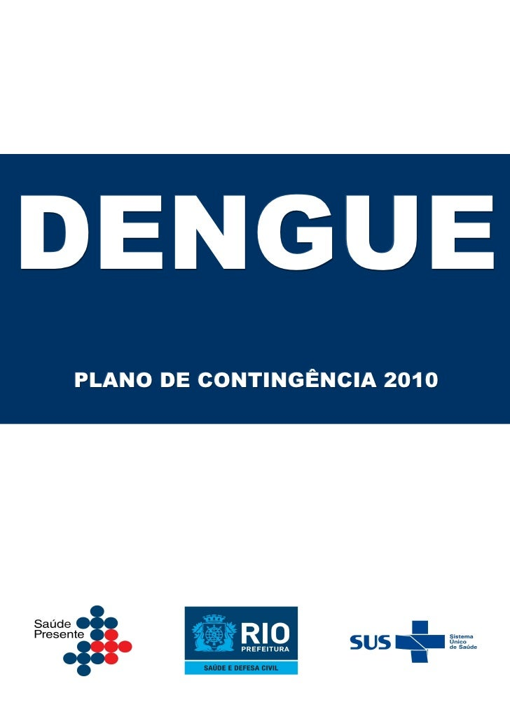 DENGUEPLANO DE CONTINGÊNCIA 2010