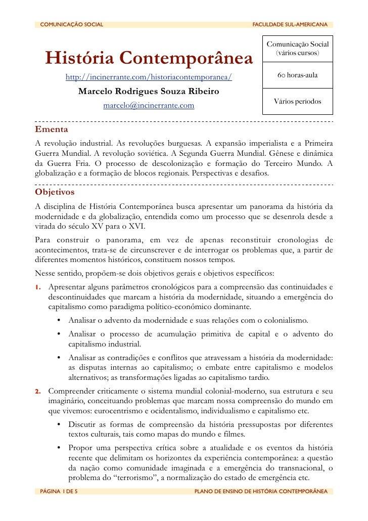 COMUNICAÇÃO SOCIAL                                          FACULDADE SUL-AMERICANA                                     ...