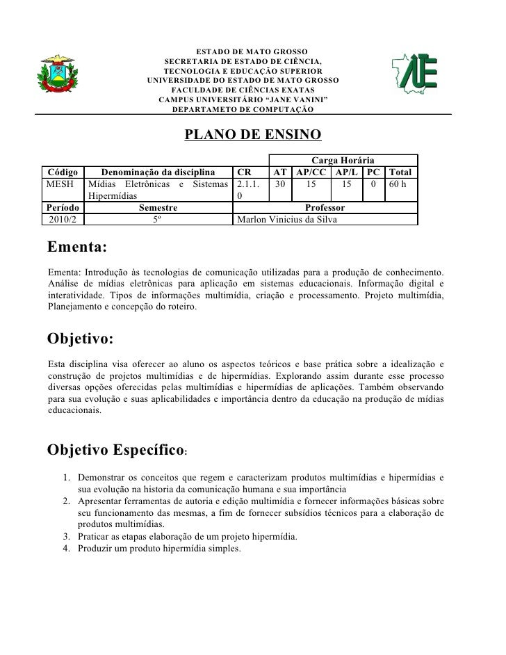 ESTADO DE MATO GROSSO                            SECRETARIA DE ESTADO DE CIÊNCIA,                            TECNOLOGIA E ...