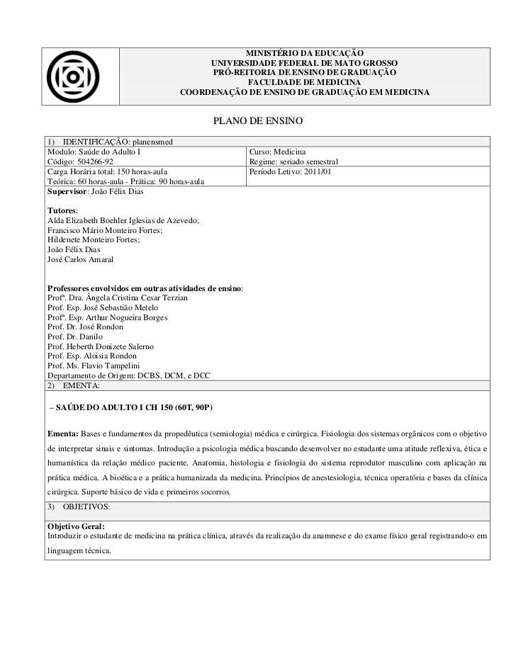 MINISTÉRIO DA EDUCAÇÃO                                            UNIVERSIDADE FEDERAL DE MATO GROSSO                     ...