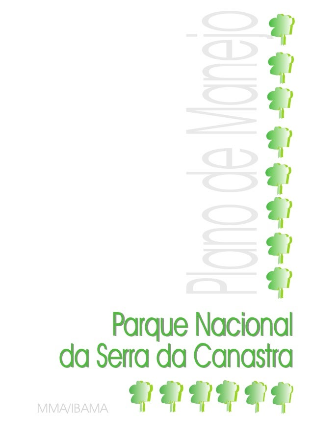 Plano de Manejo      Parque Nacional  da Serra da CanastraMMA/IBAMA