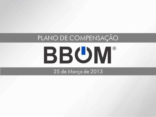 BBOM Plano de marketing