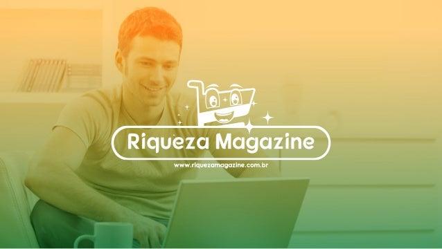 Plano de Marketing Riqueza Magazine