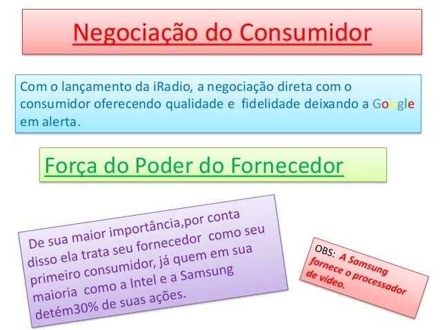 Negociação do Consumidor Com o lançamento da iRadio, a negociação direta com o consumidor oferecendo qualidade e fidelidad...
