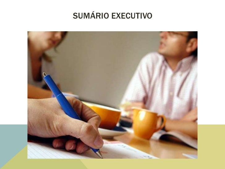 SUMÁRIO EXECUTIVO